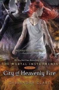City of Heavenly Fire cover